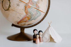 voyage globe terrestre